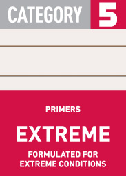 Category 5 Extreme: primers, formulated for extreme conditions