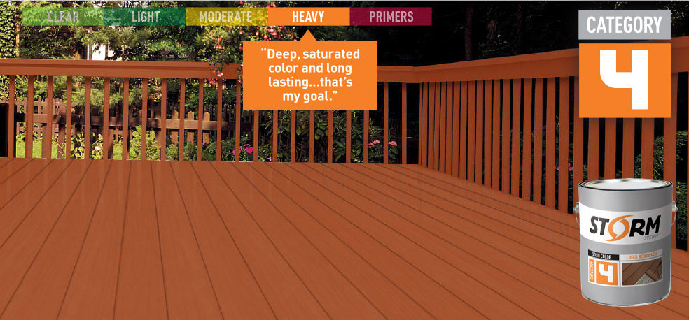 Storm System Wood Stain Deck Stain Exterior Stain